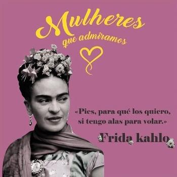 Estampas homenageiam ícones femininos como Frida Kahlo