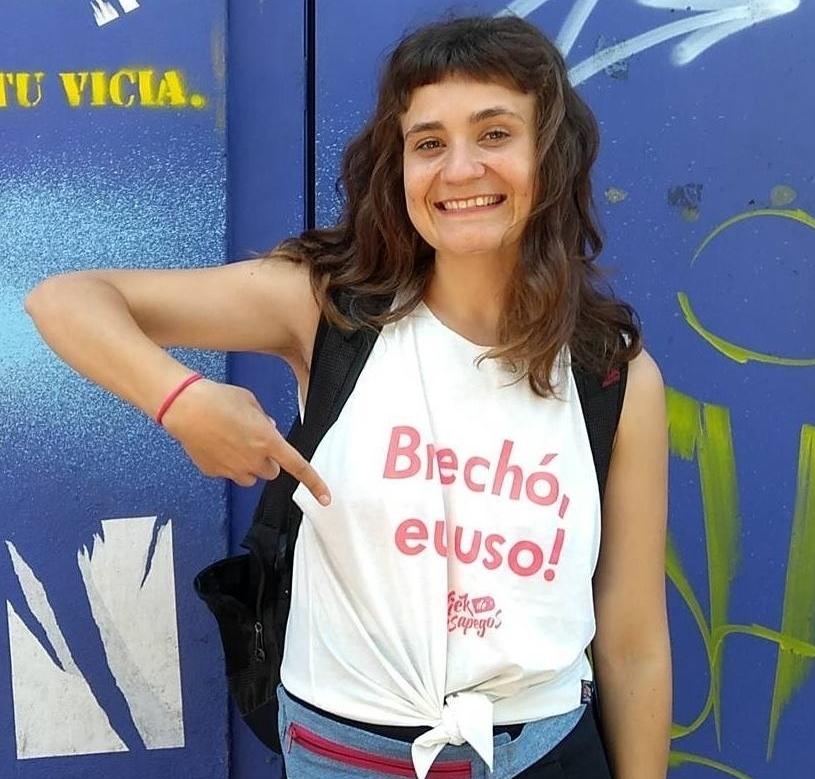 """Natália Guasso, do Brick de Desapegos: """"A moda constrói novos comportamentos e ajuda o mundo a ser mais sustentável"""" (Foto/Fábio Alt)"""