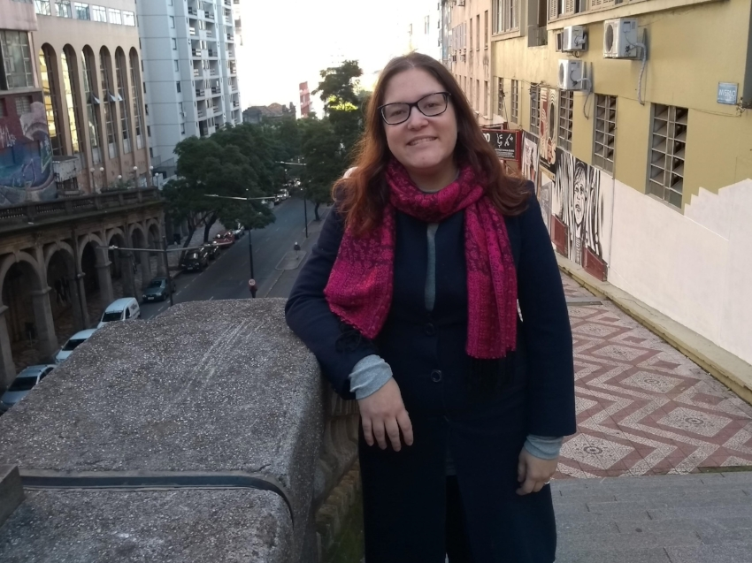 Carolina Soares, a Sosô, fundadora da Minha Porto Alegre: ativismo apartidário em favor de uma cidade mais inclusiva e sustentável
