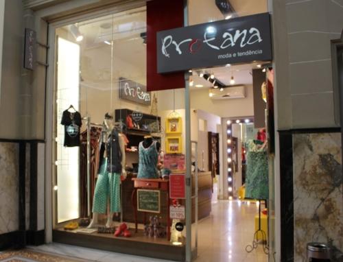 Profana, loja de moda feminina na Galeria Chaves (Foto/Isadora Hernandez)