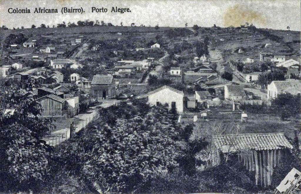 A Colônia Africana, no limite entre os atuais bairros Bom Fim e Rio Branco, foi um dos espaços repartidos por populações negras e de imigrantes europeus no período pós-abolição