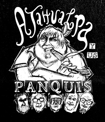 Ilustração usada em cartaz e camisetas