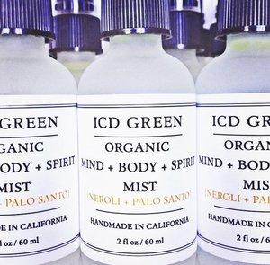 ICD Green Mind, Body, & Soul Mist