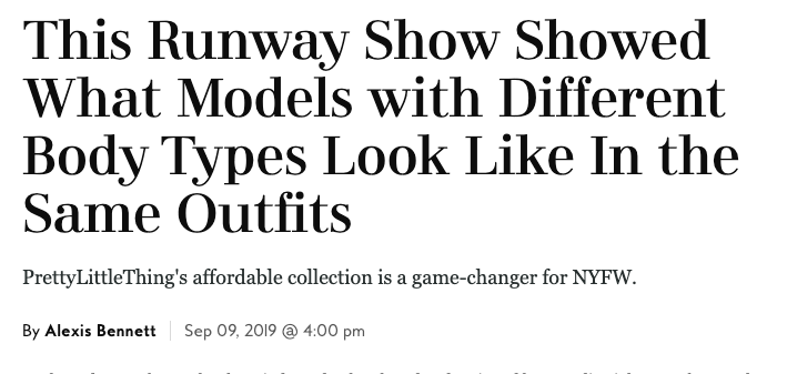 Click here to check out In Style's piece on the show!