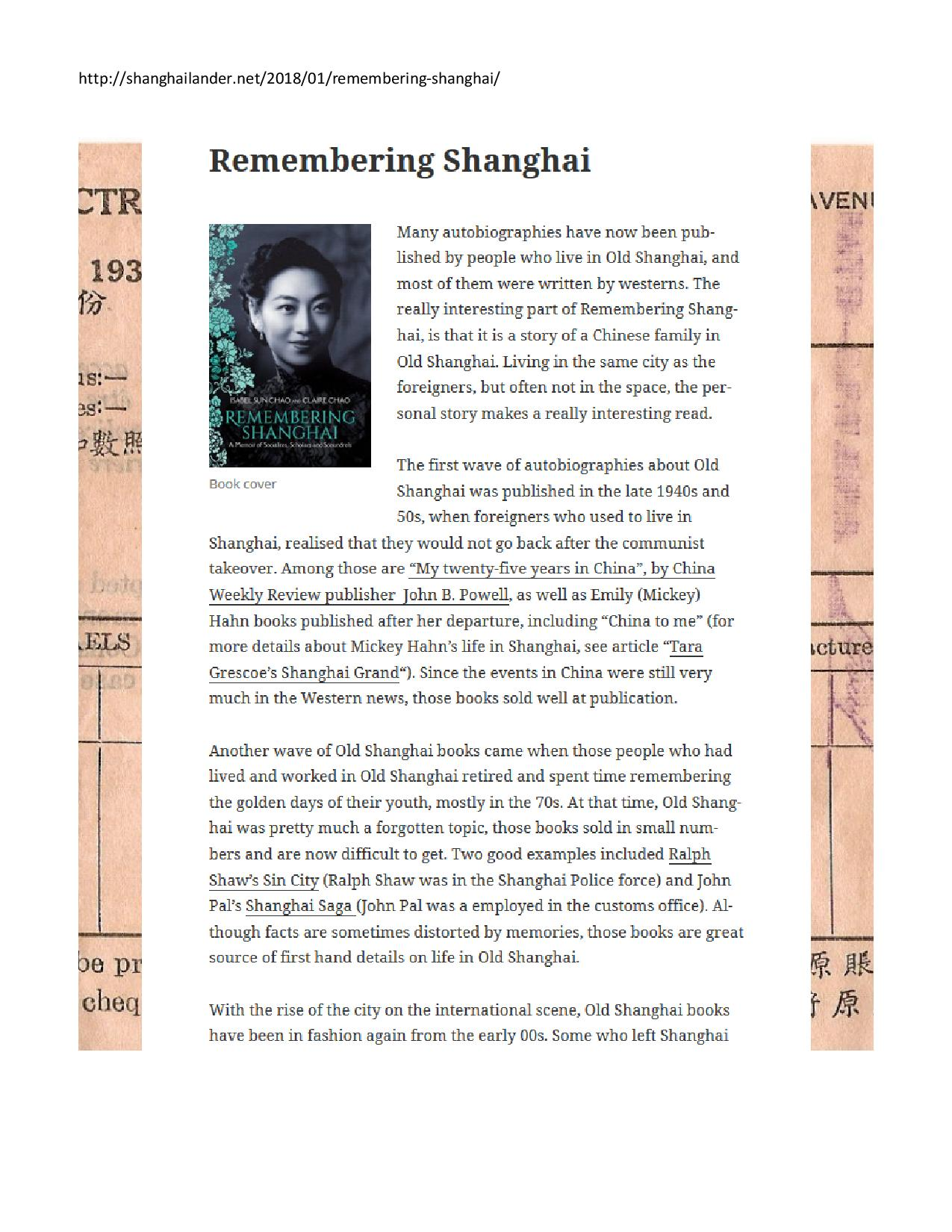 shanghailander.net, January 2018