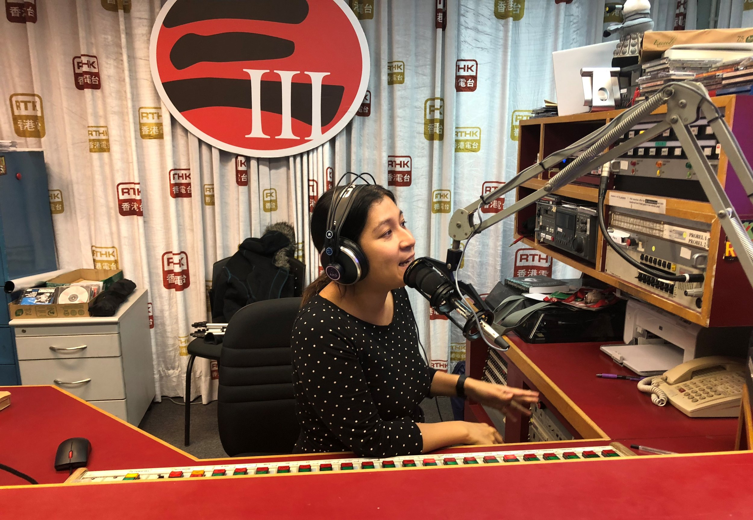 RTHK radio interview with Noreen Mir, November 2018