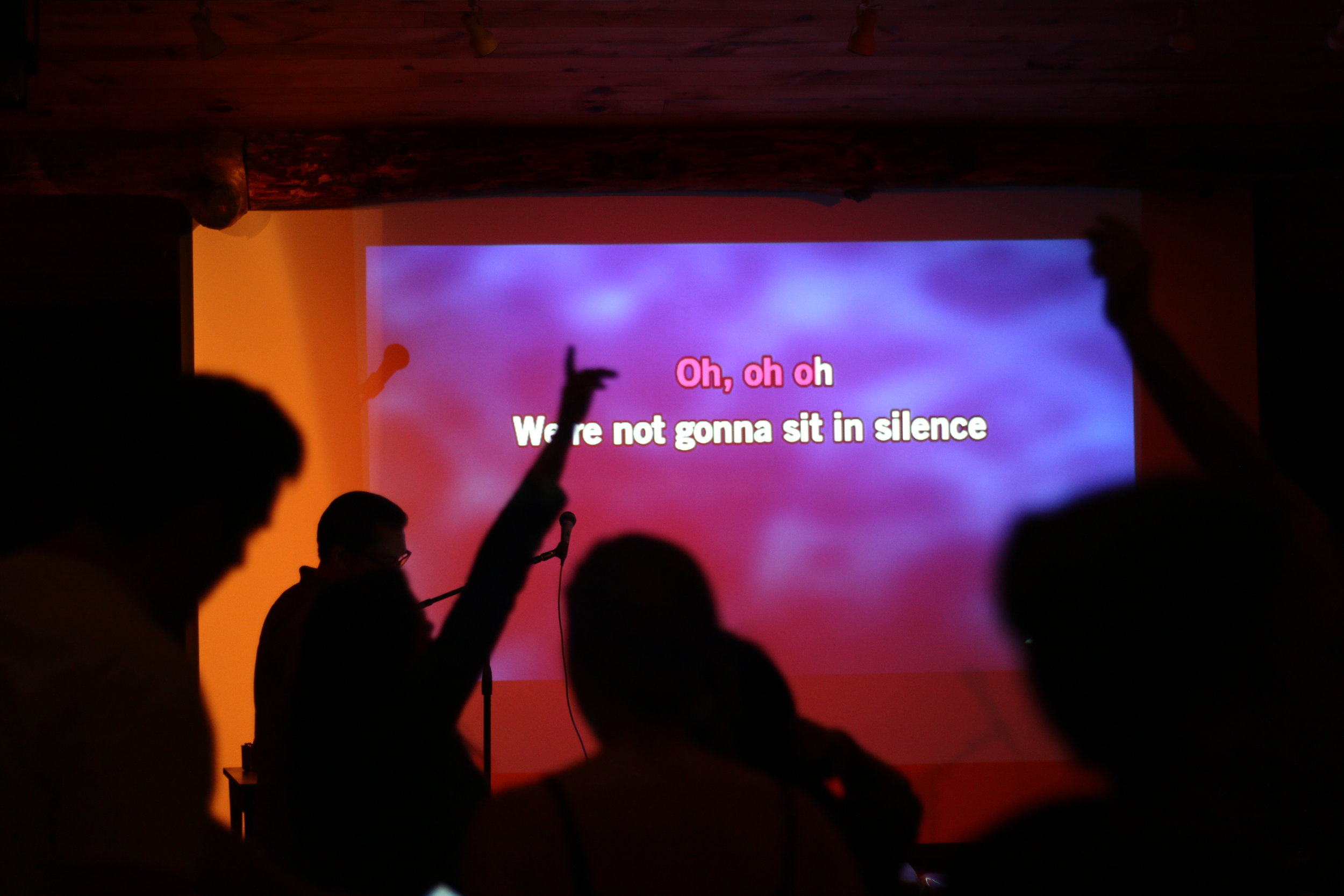 🎤 Camp Karaoke 🎤