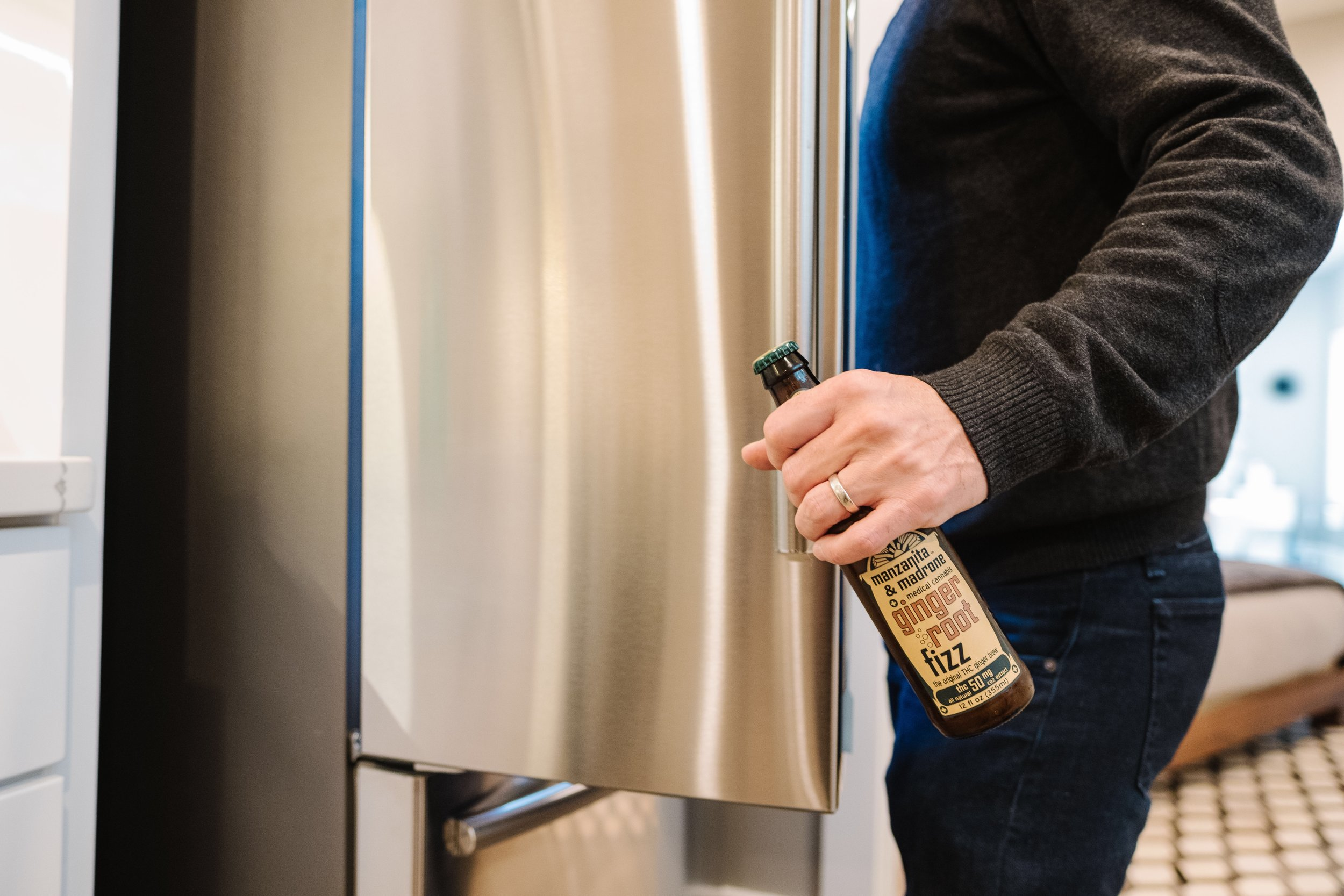 - What's the latest thing popping in the fridge?