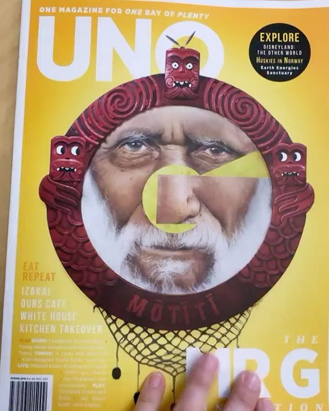 Get your hands on the new @unomagnz and go to page 104 to read a little about us!