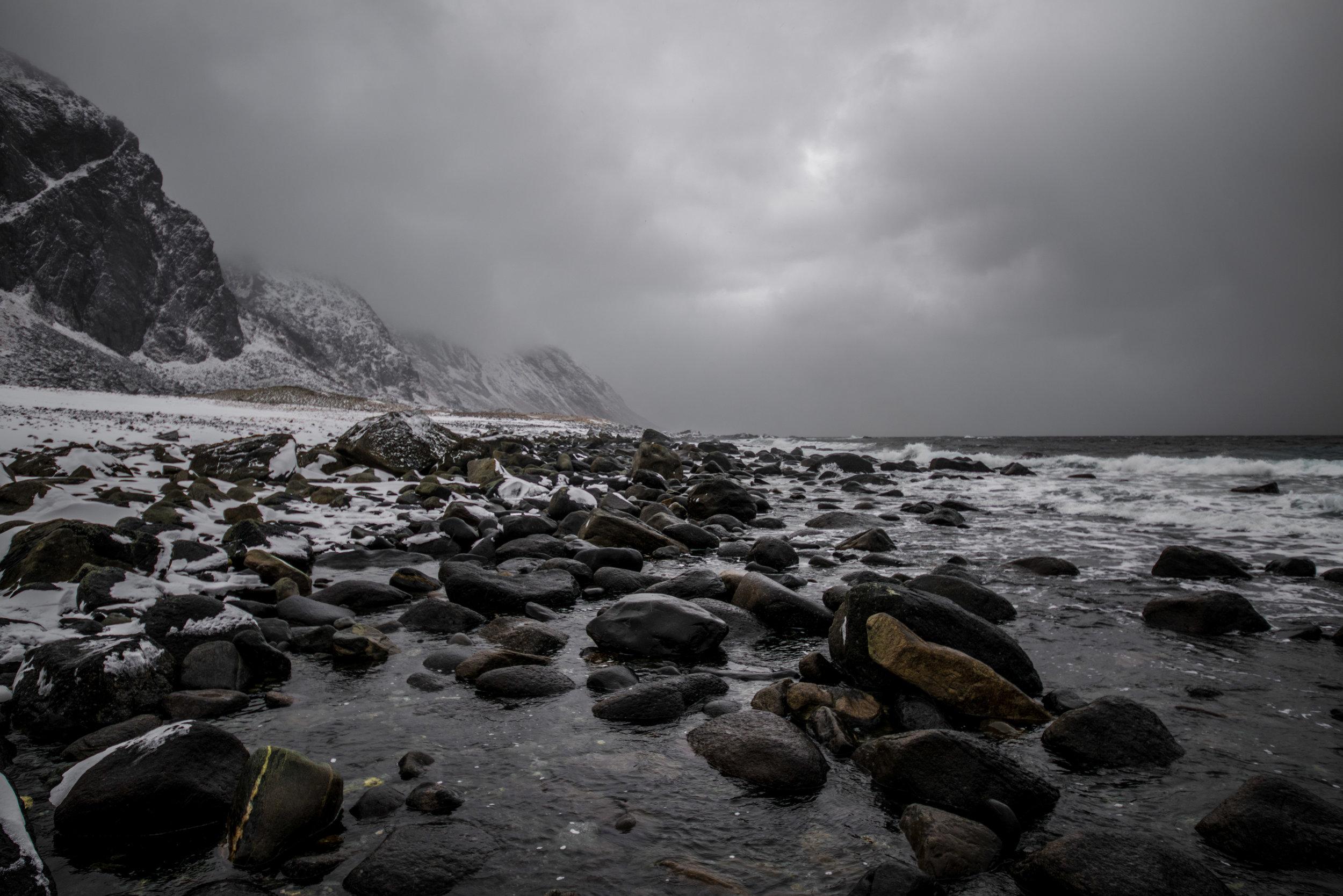 2. The Sea Cliffs of Trælanípa, Isle of Vágar