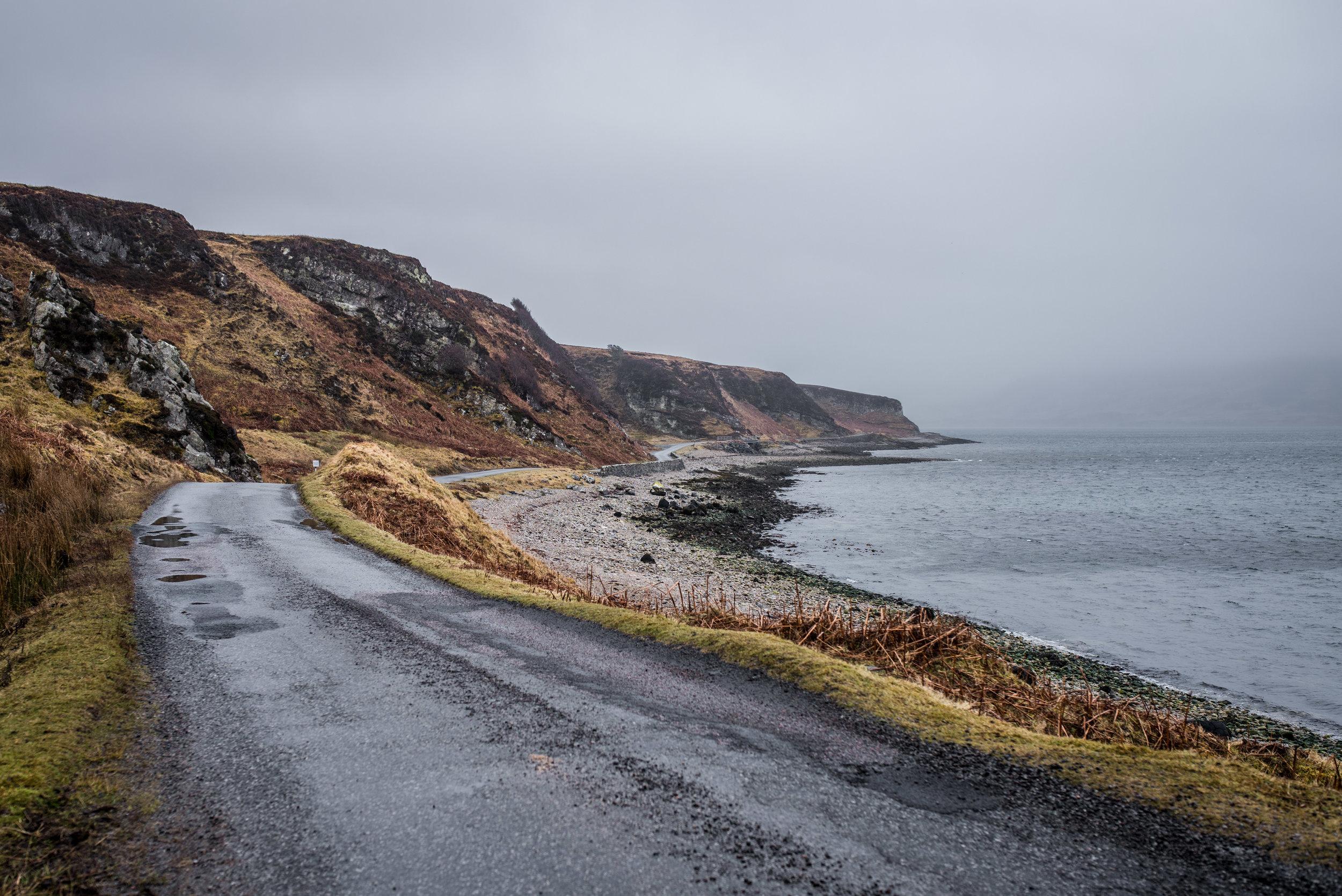 1. Drangarnir & Tindhólmur, crumbling into the sea