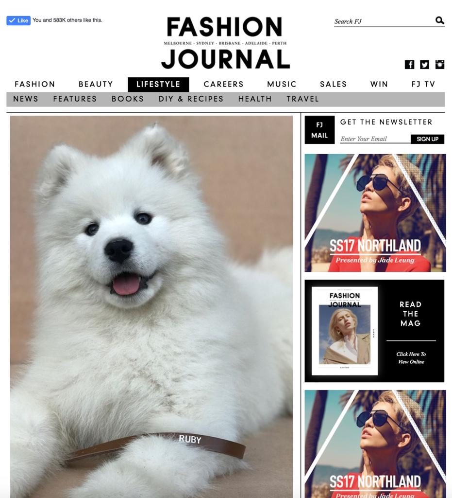 mills&LEO featured in Fashion Journal