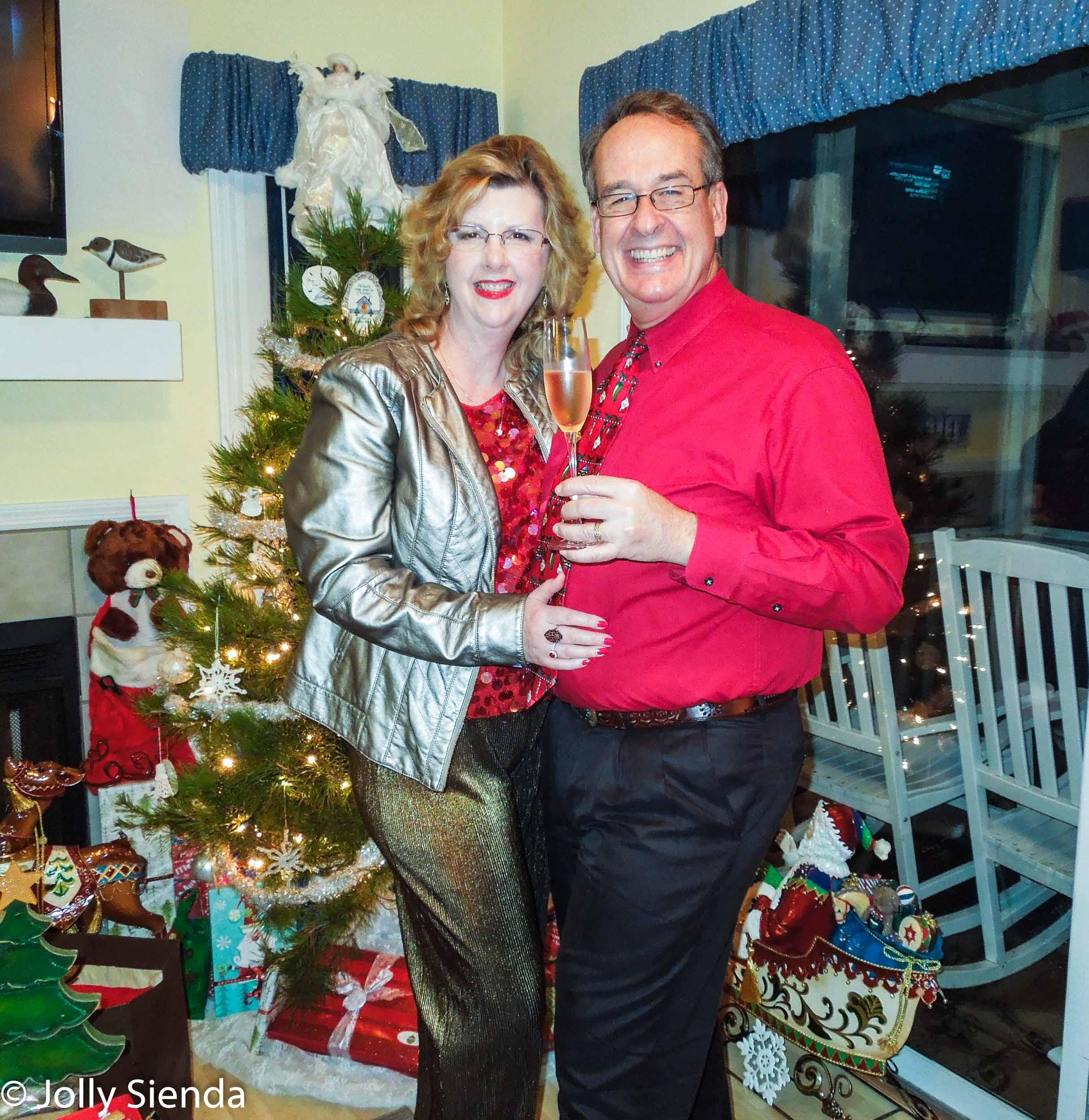 Rich and Jolly Sienda at Christmas