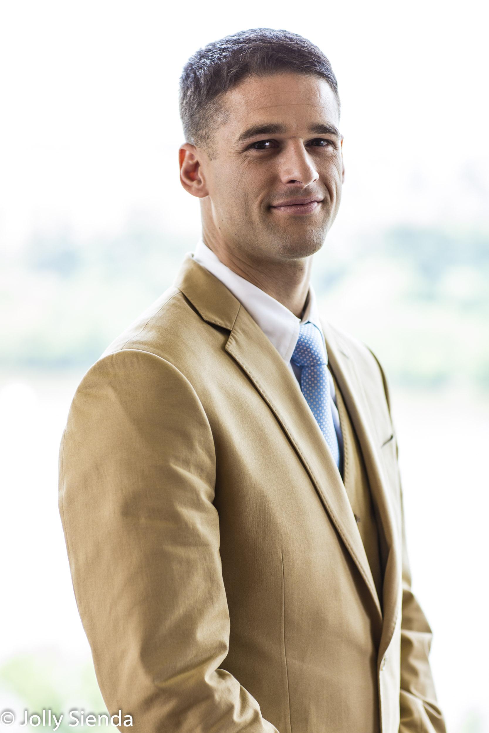 Mens business portrait photography