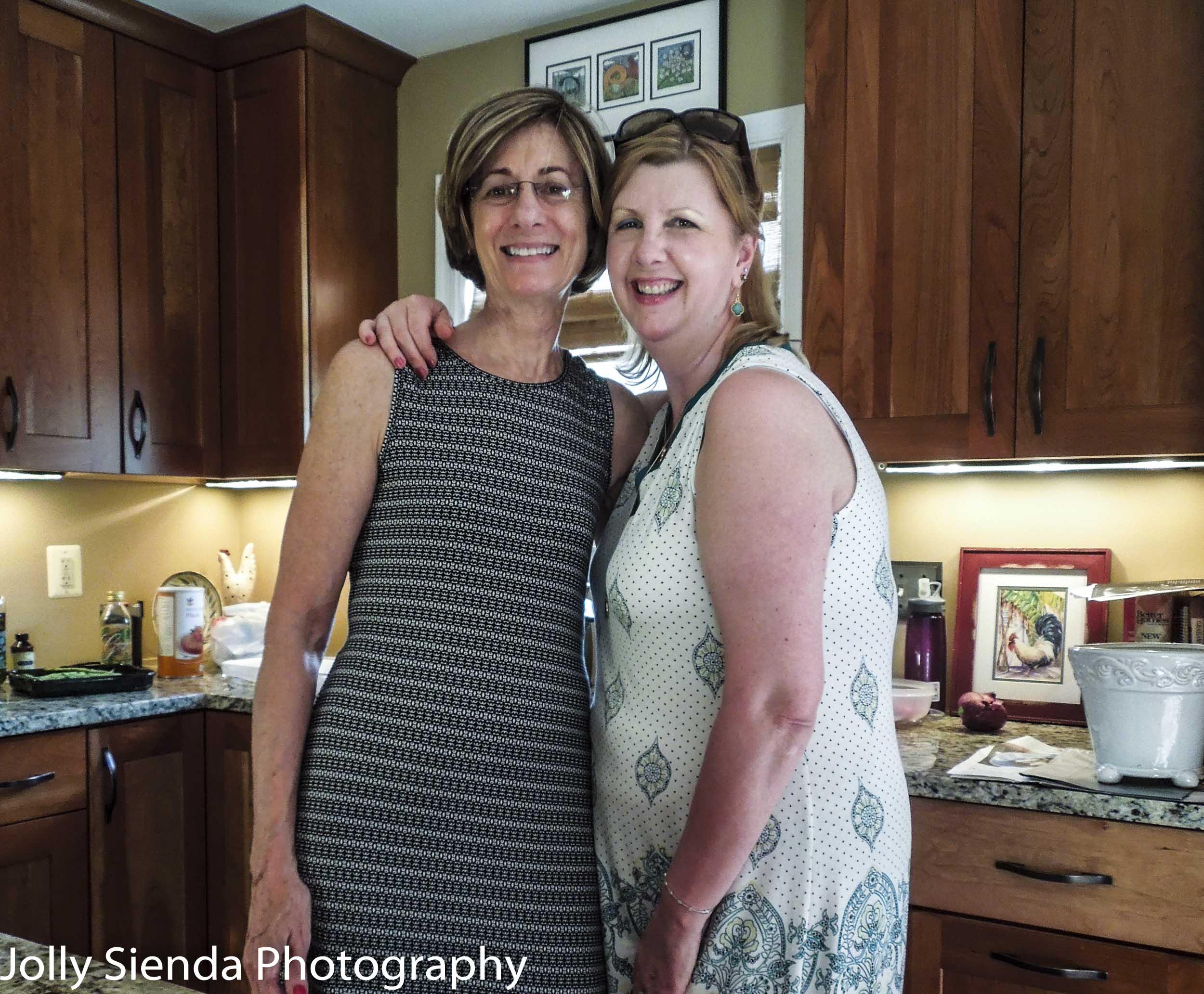 Rachel Zachary and Jolly Sienda