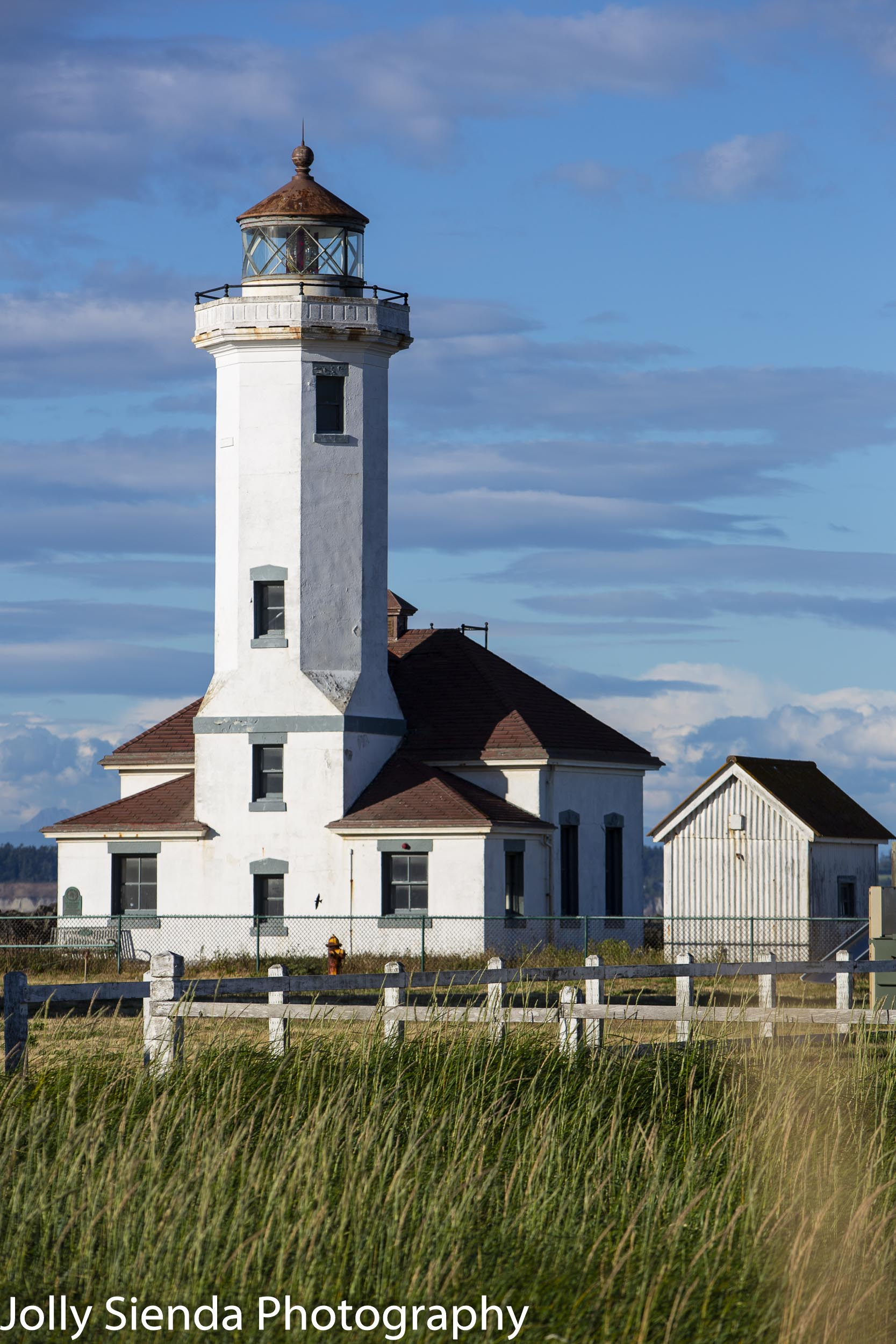 Point Wilson Light, Lighthouse, at Fort Worden,