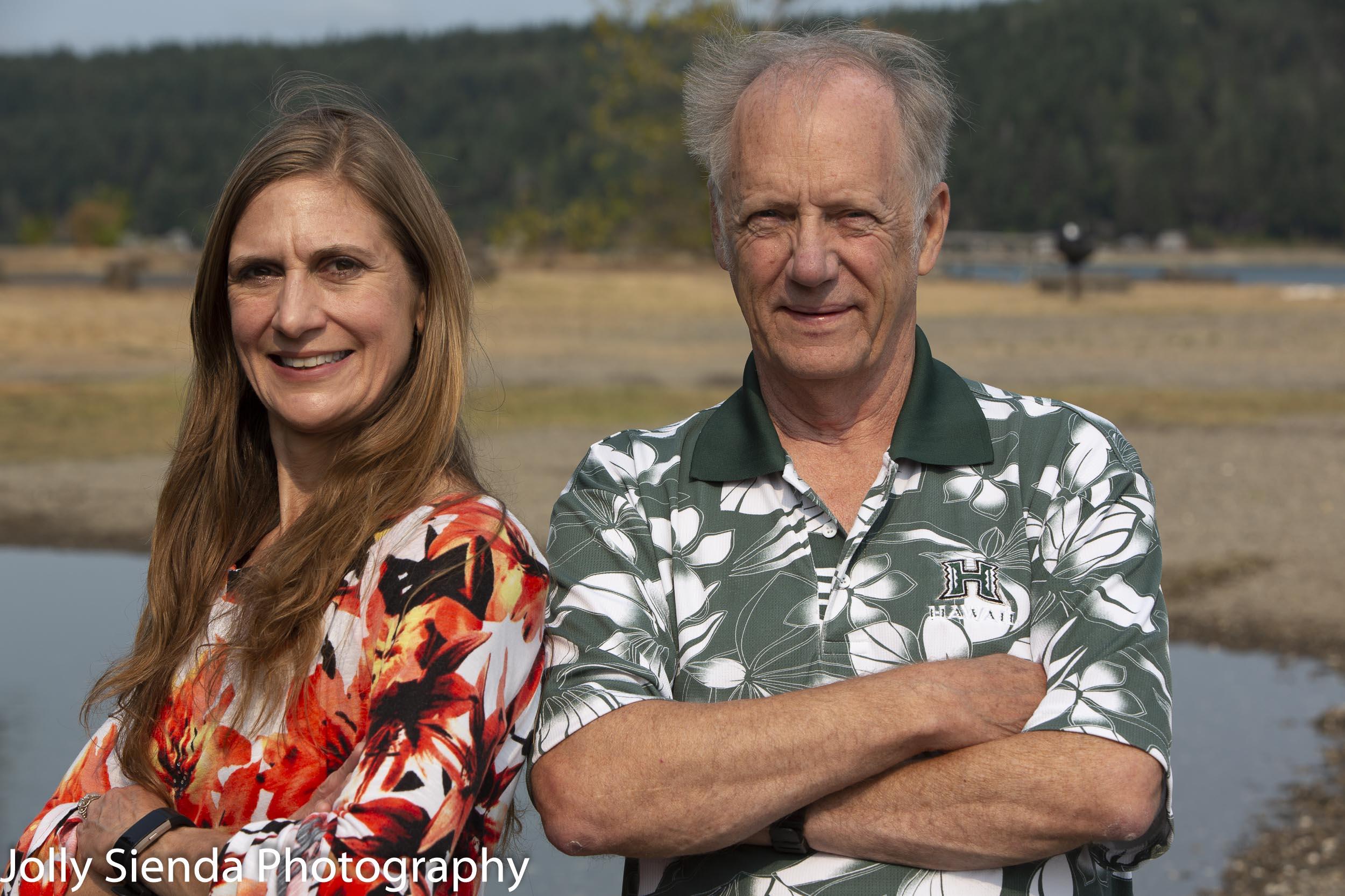 Cathy Darlington Graham and Ron Jenson, Business portrait photog
