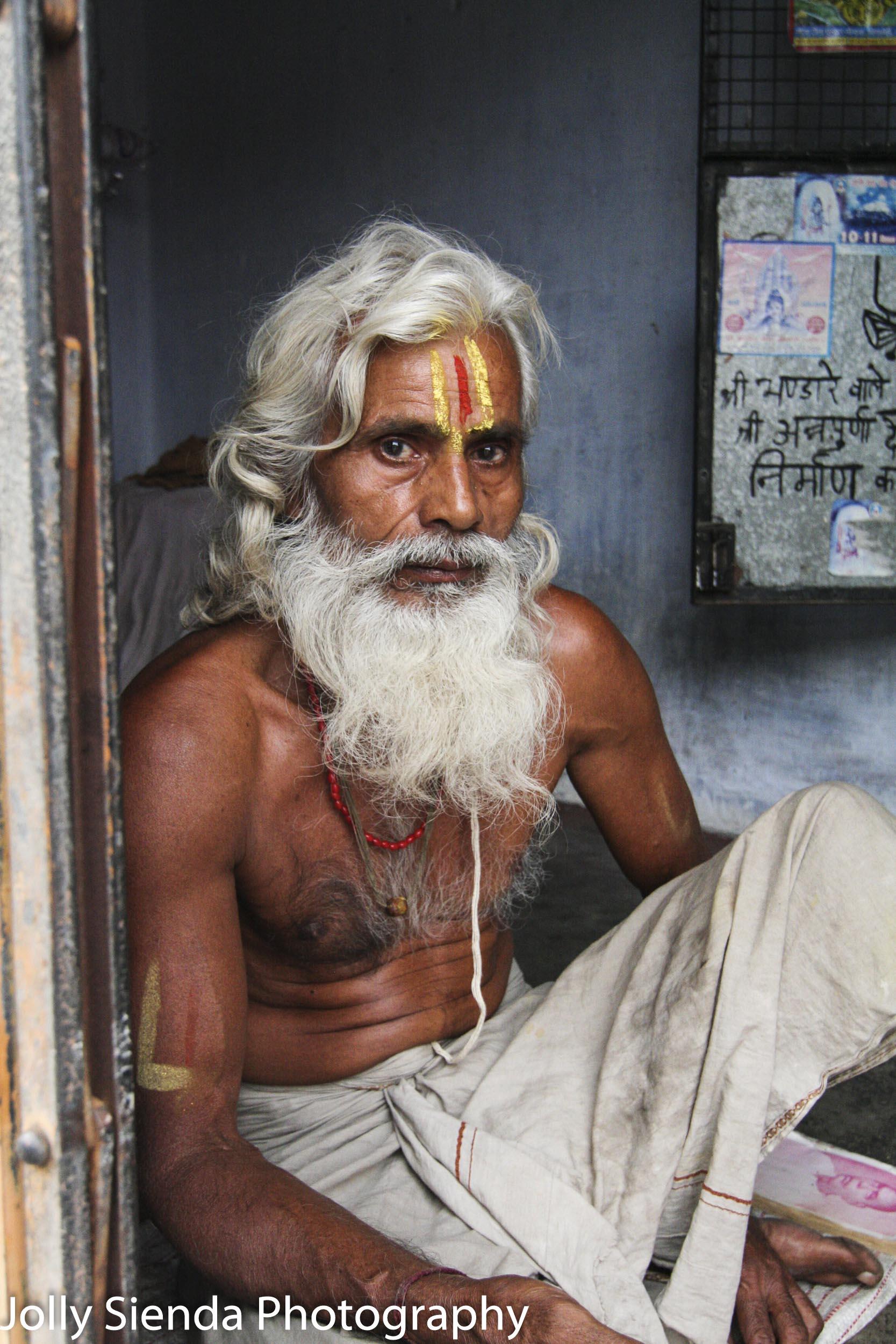 Sanskrit Reader, Portrait Photography, India