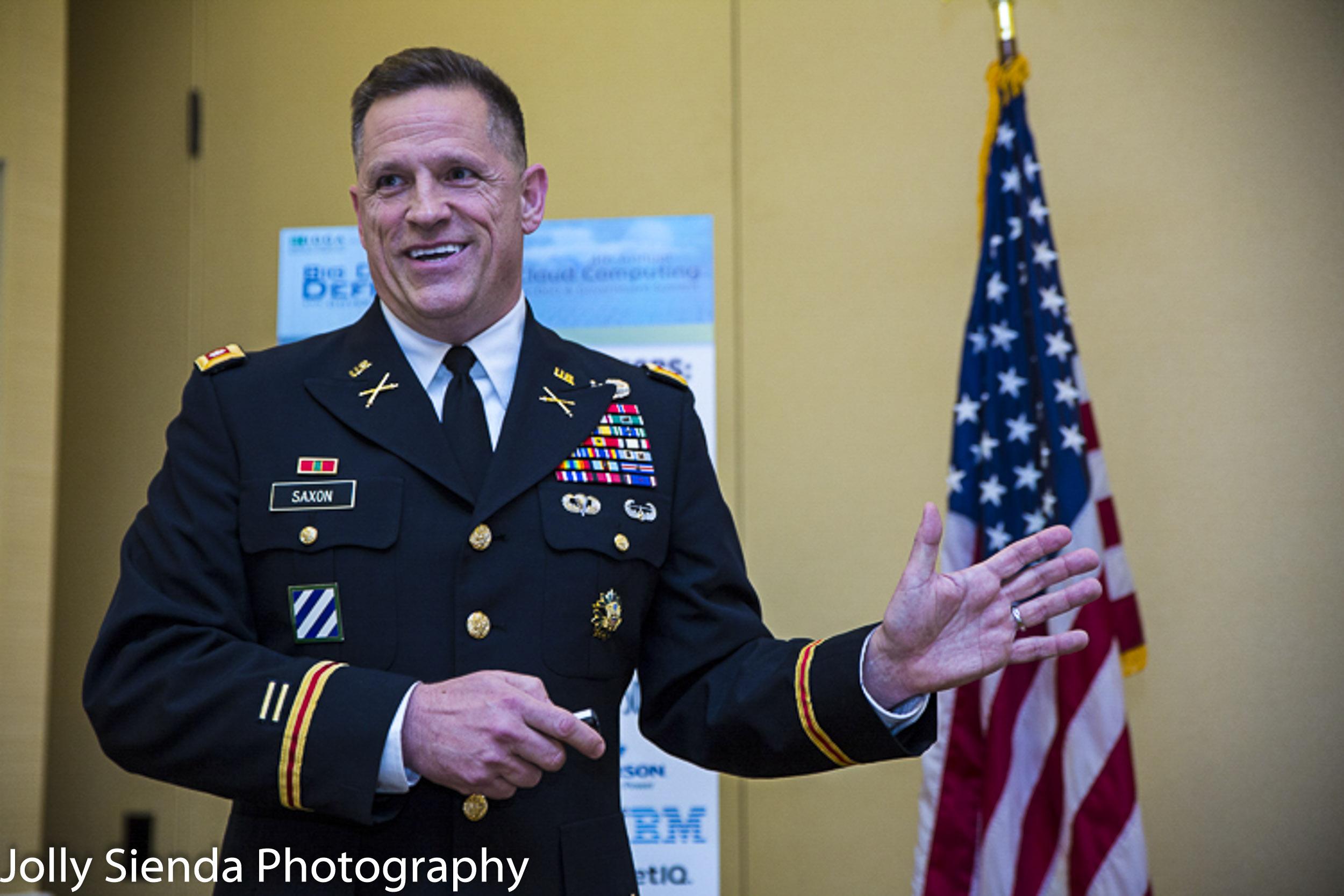 Portrait of Colonel Bobby Saxon, USA