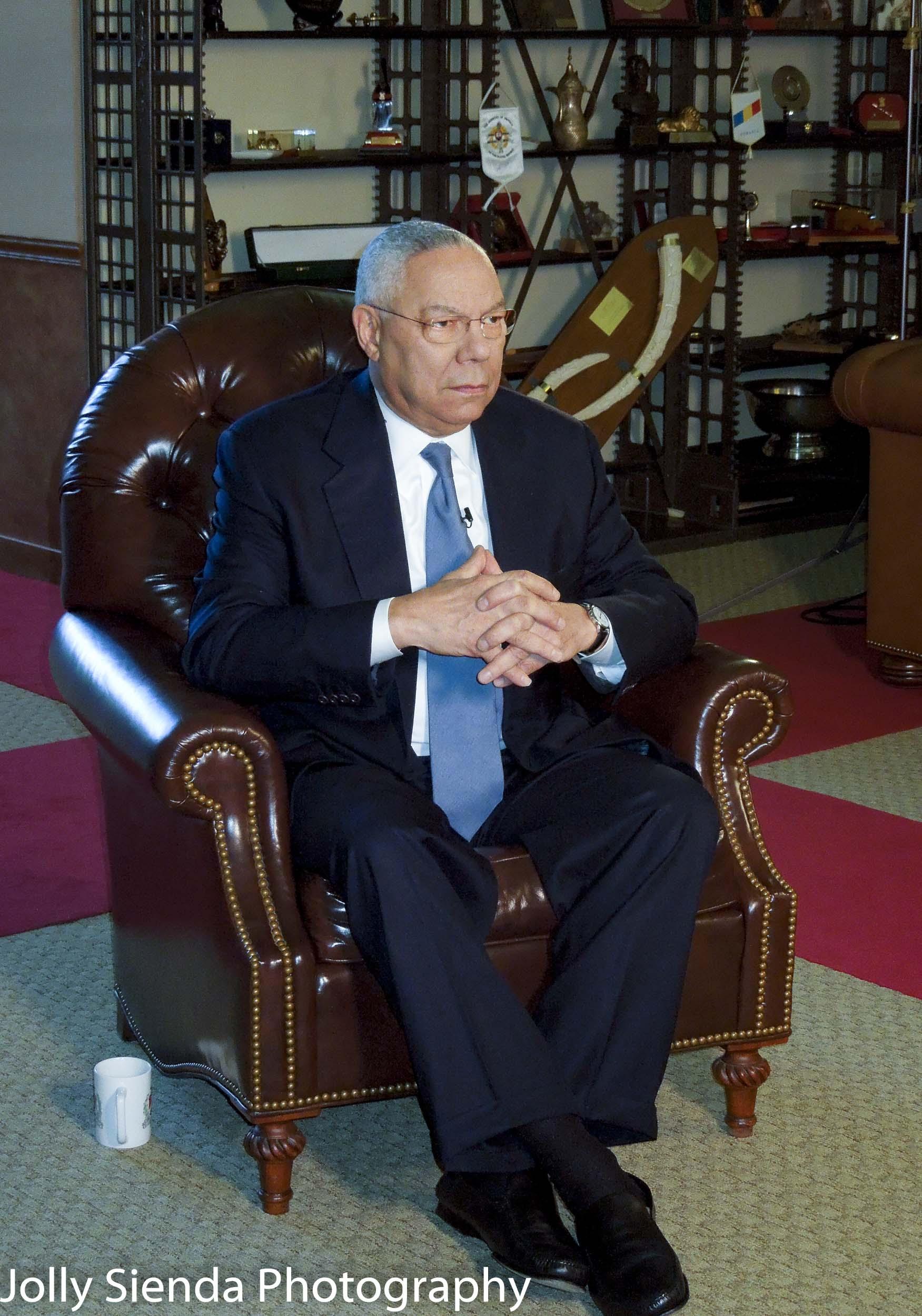 Colin Powell, (Ret) U.S. Secretary of State, four-star general U