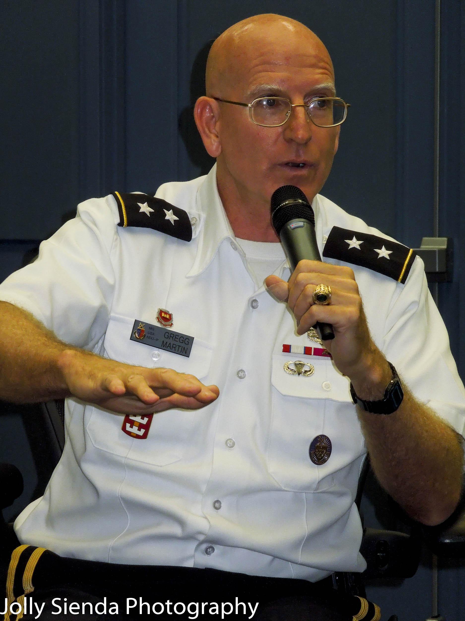 Gregg Martin, Major General, USA