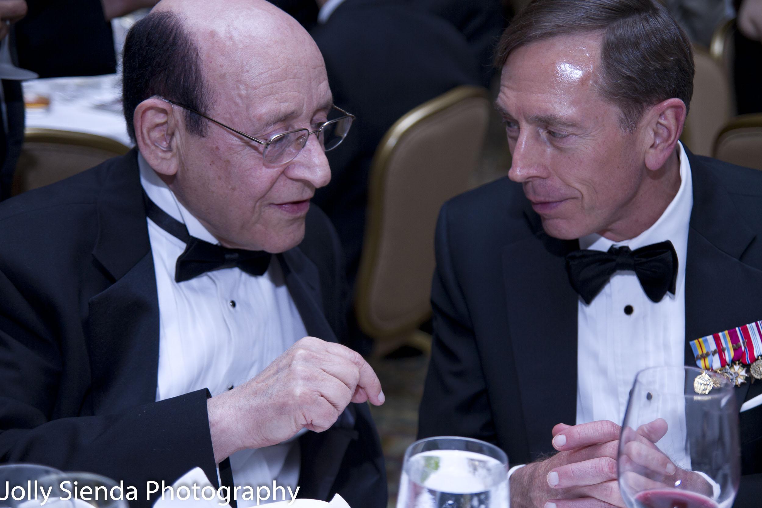 David Petraeus (RET) USA Army General, Director CIA and Abe Kare