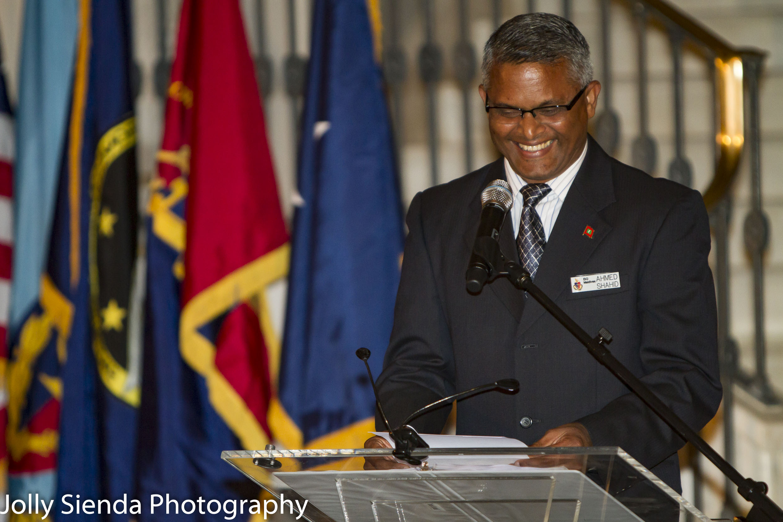 Ahmed Shahid, Brigadier General, Maldives