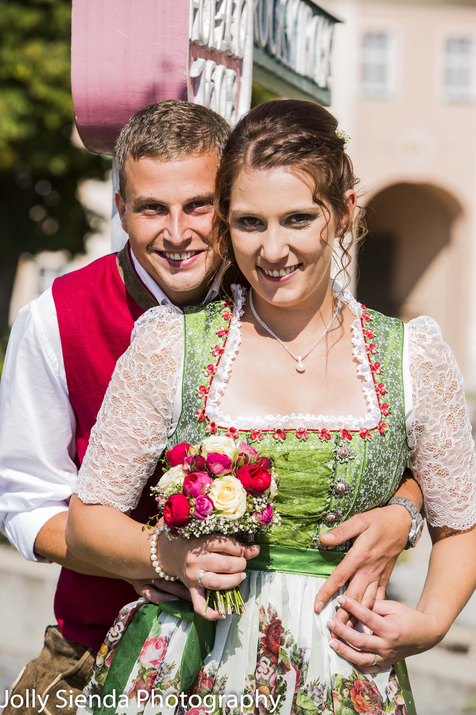 Bavarian German wedding