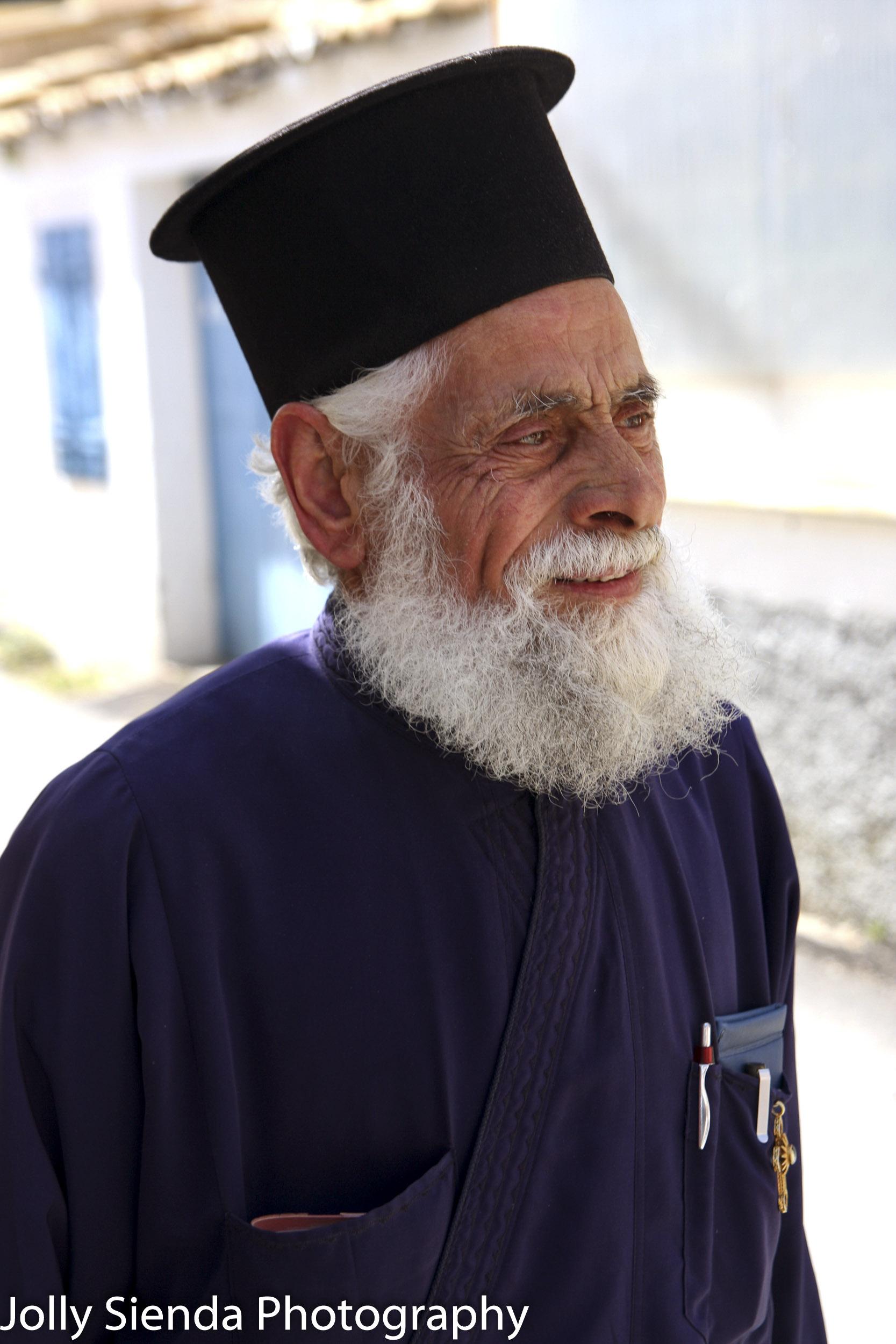 Orthodox Greek  Holy Man