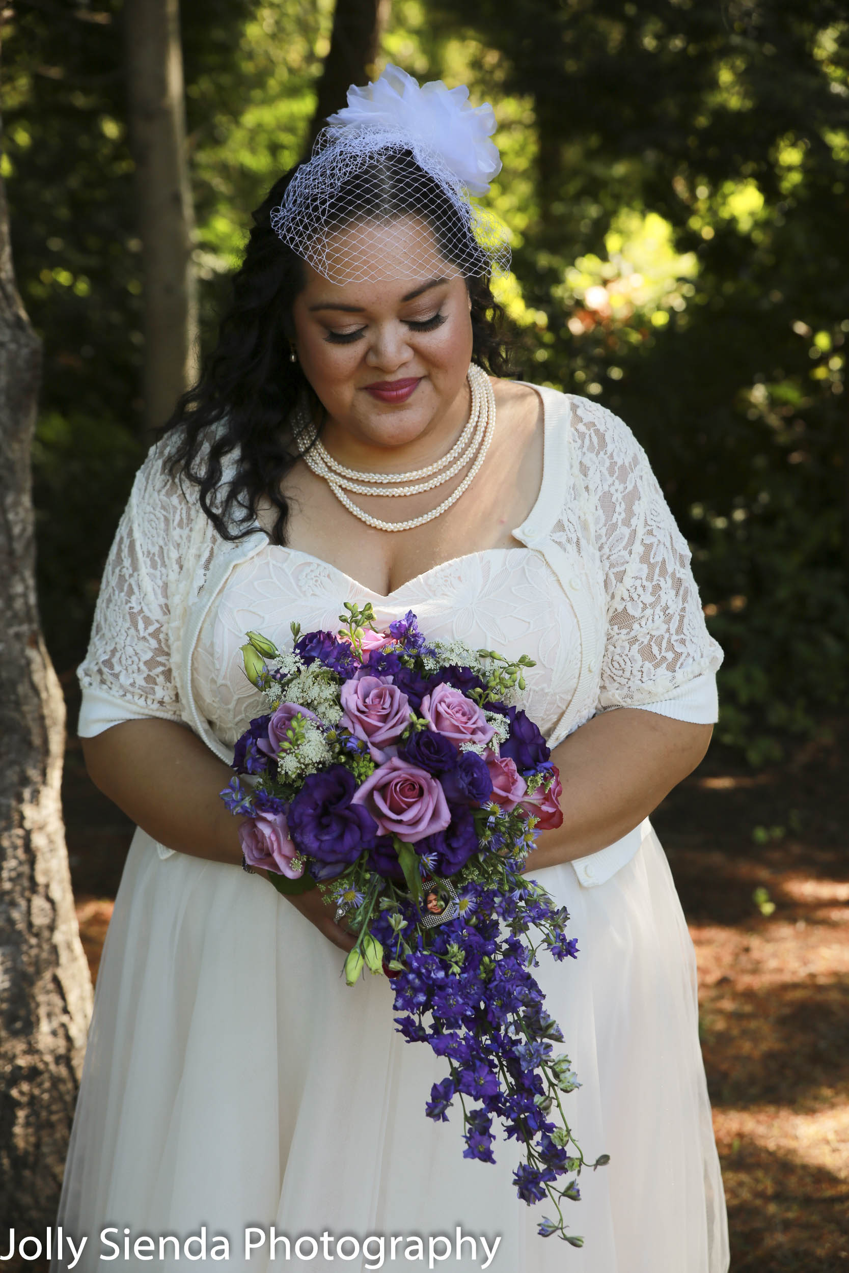 Nieves and Chad Wright, bridal portrait photography
