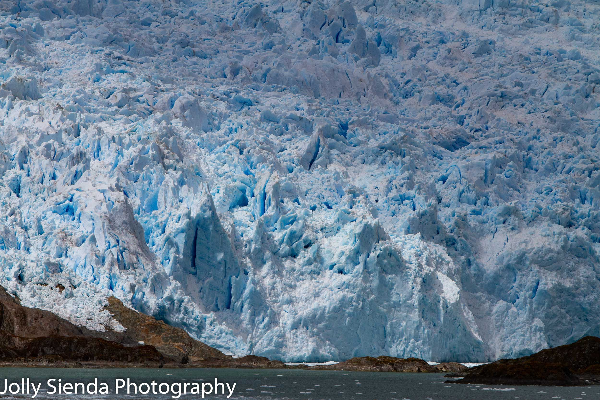 Glaciers at Glacier Alley, Chile