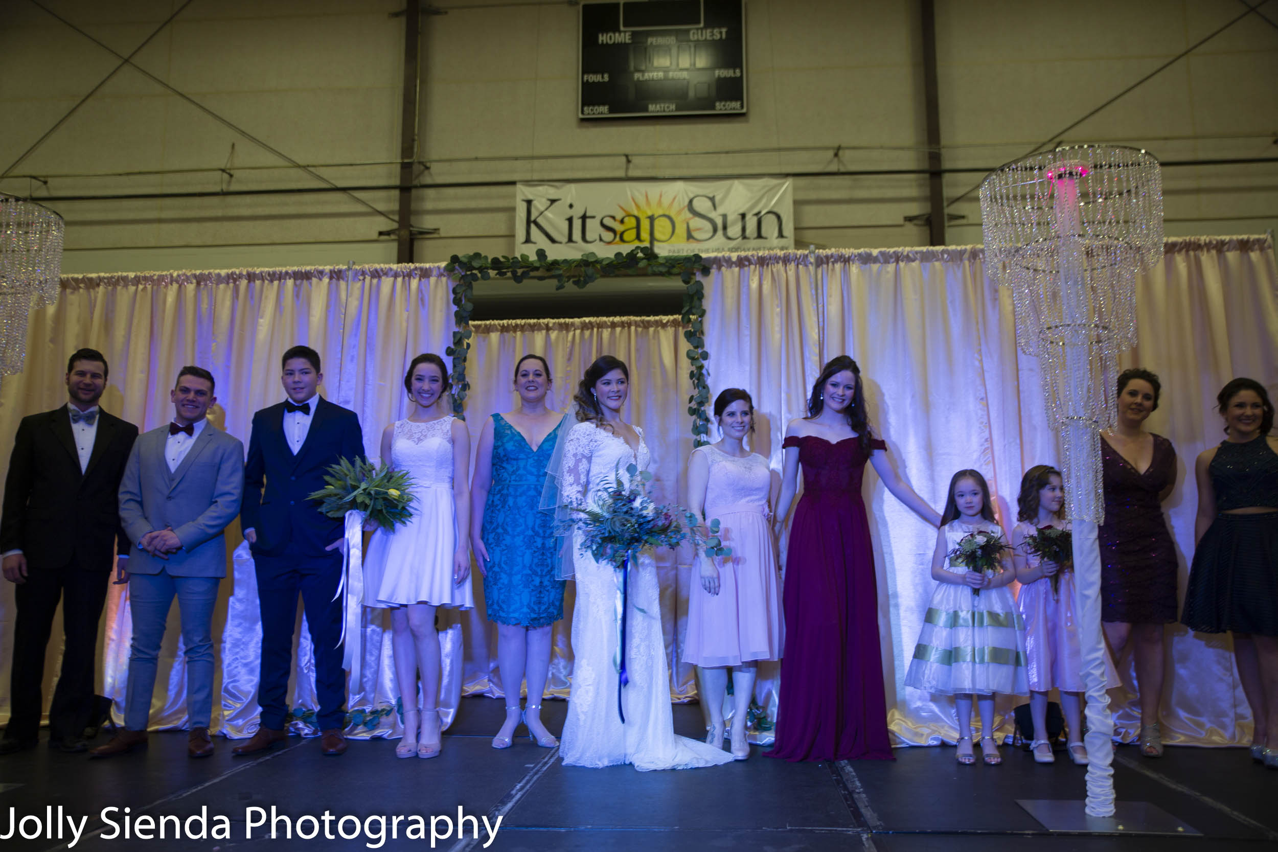 Kitsap Wedding Expo 2019, Wedding Fashion Show
