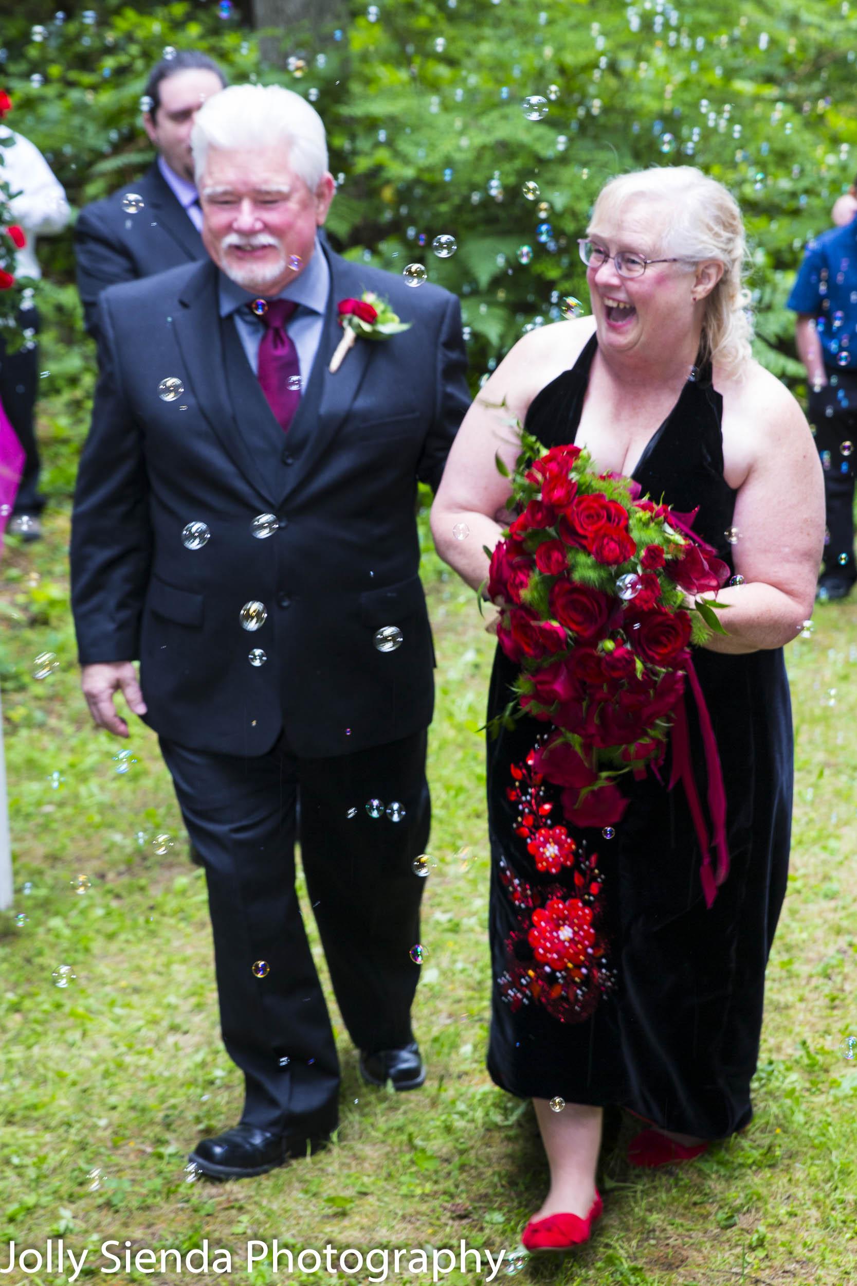 Myrna Leage and Ralph Runkle Wedding