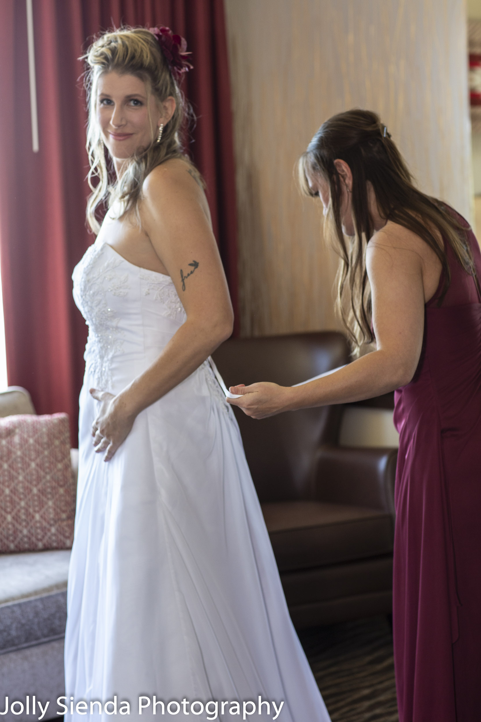 Michelle and Nicole Drake wedding photography