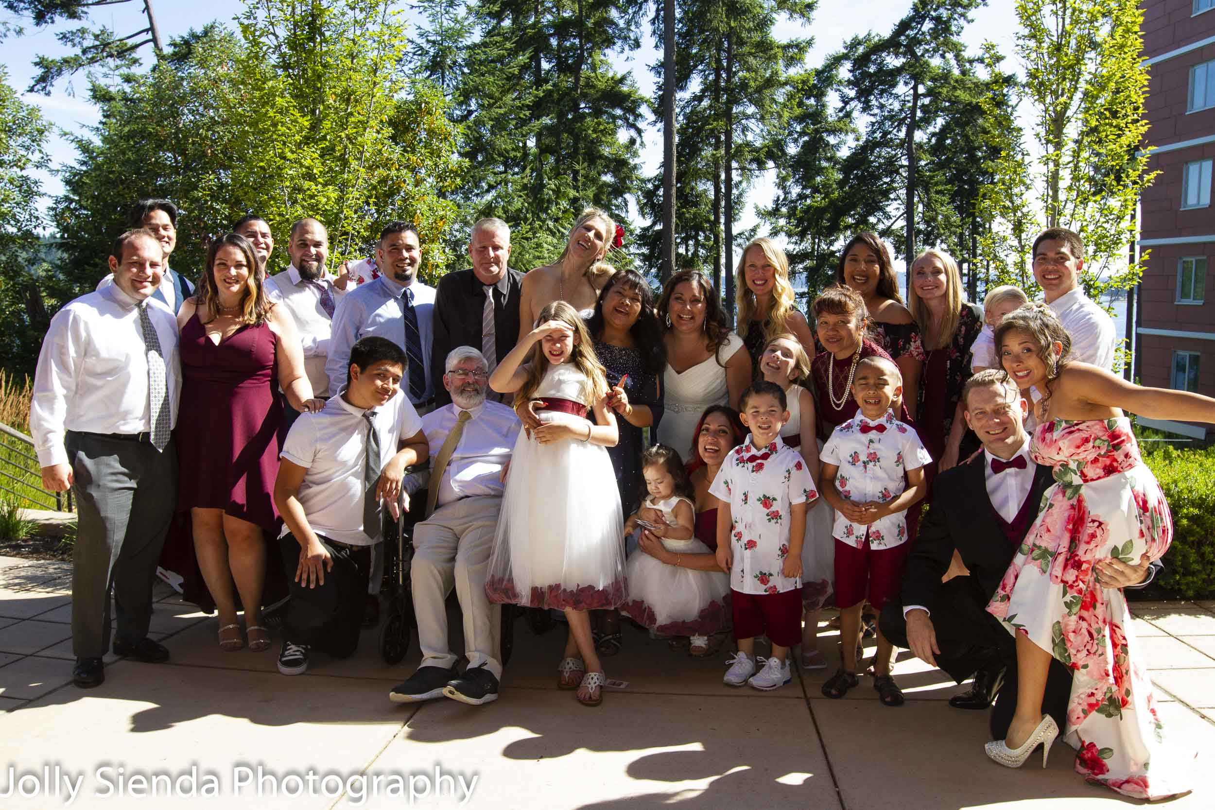Weddings are all about family, friends, and LOVE!