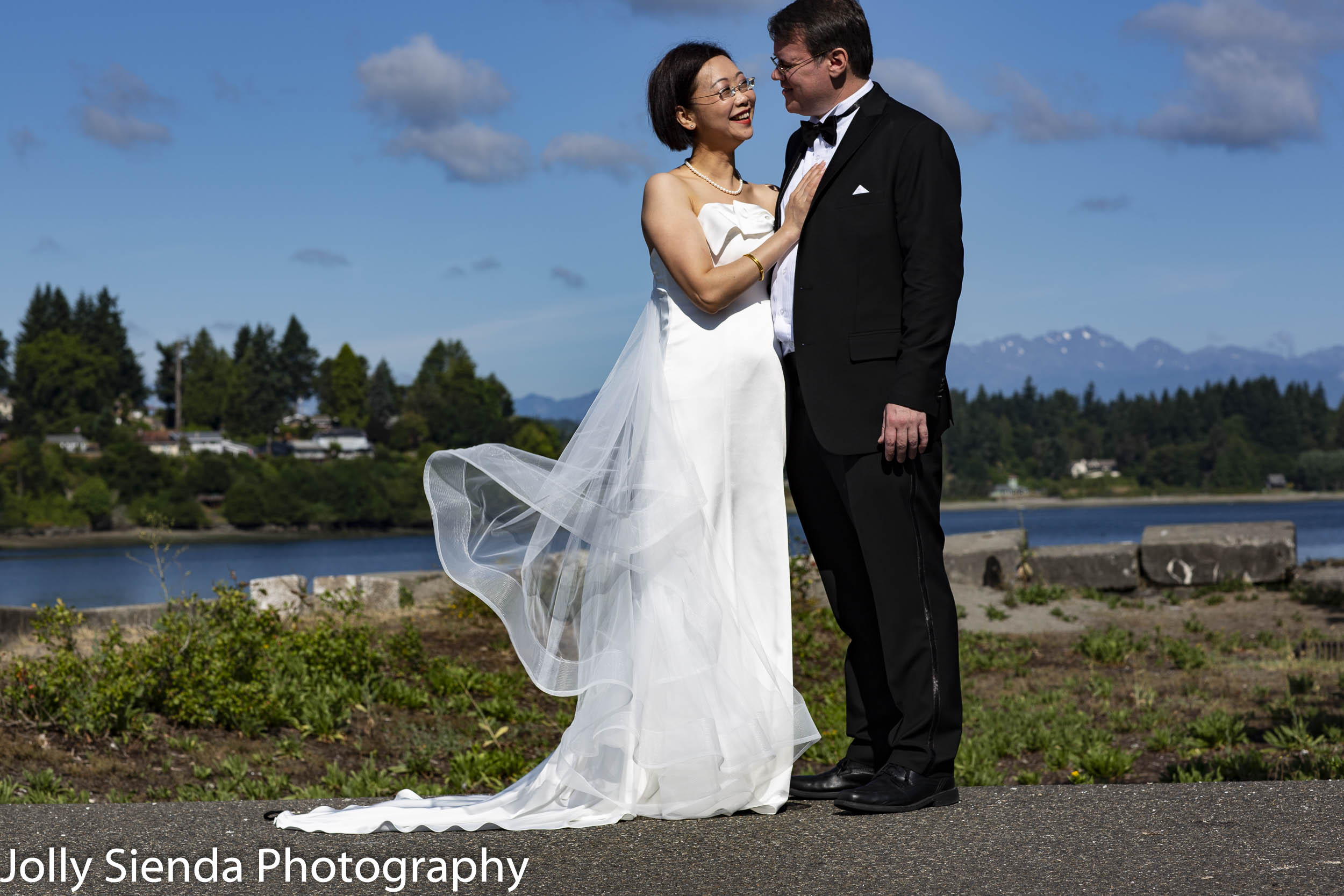 Caroline and Cameron at Lions Park, Bremerton, WA
