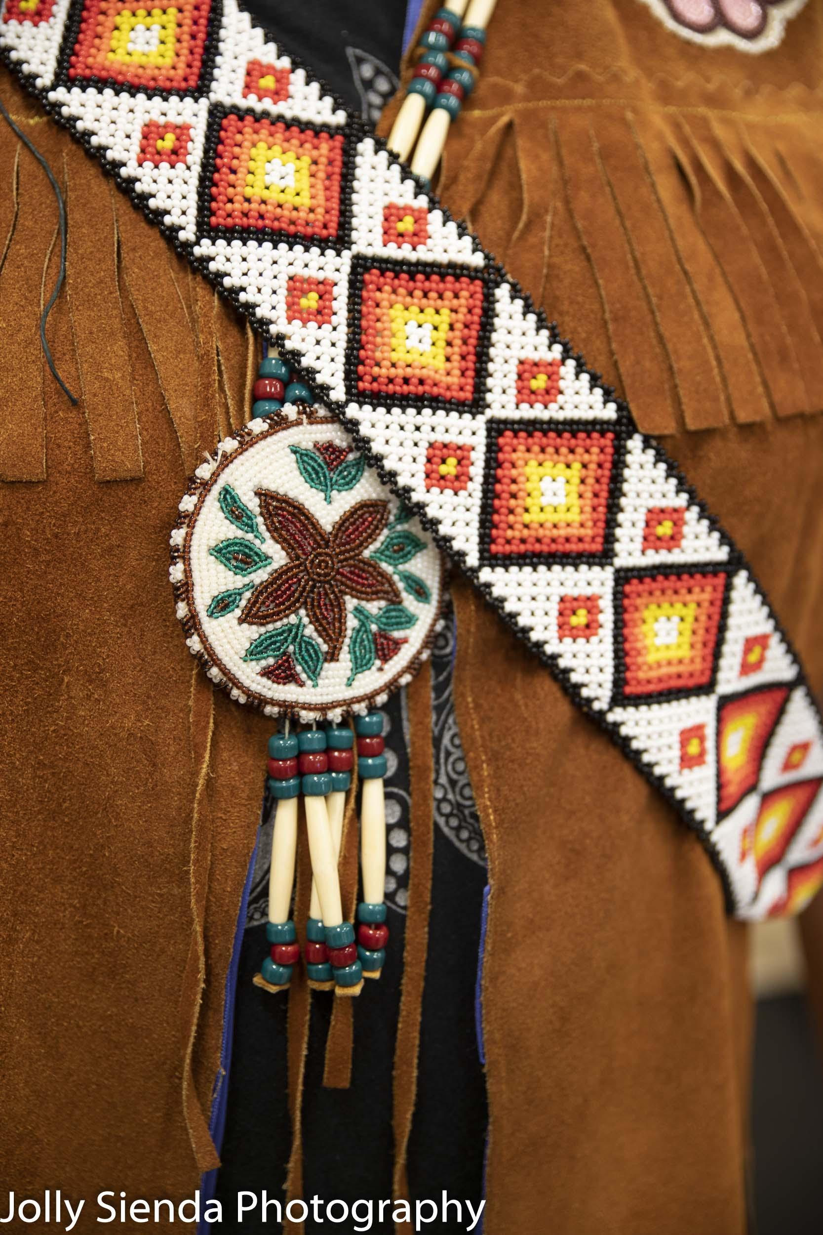Athabascan native Alaskan beadwork