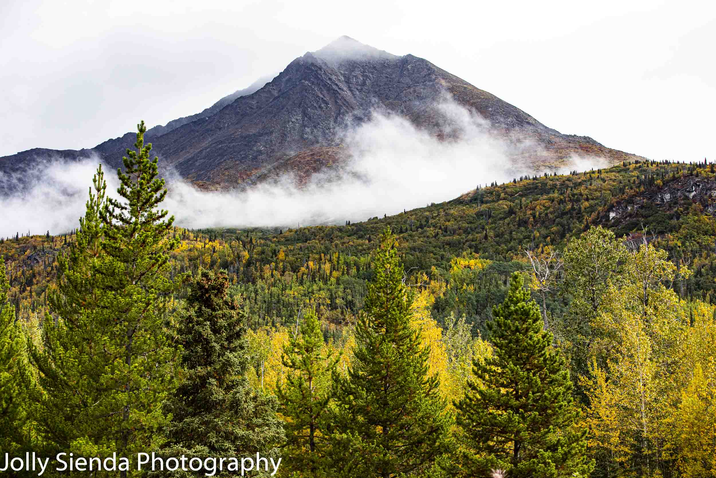 Autumn strikes Alaska early