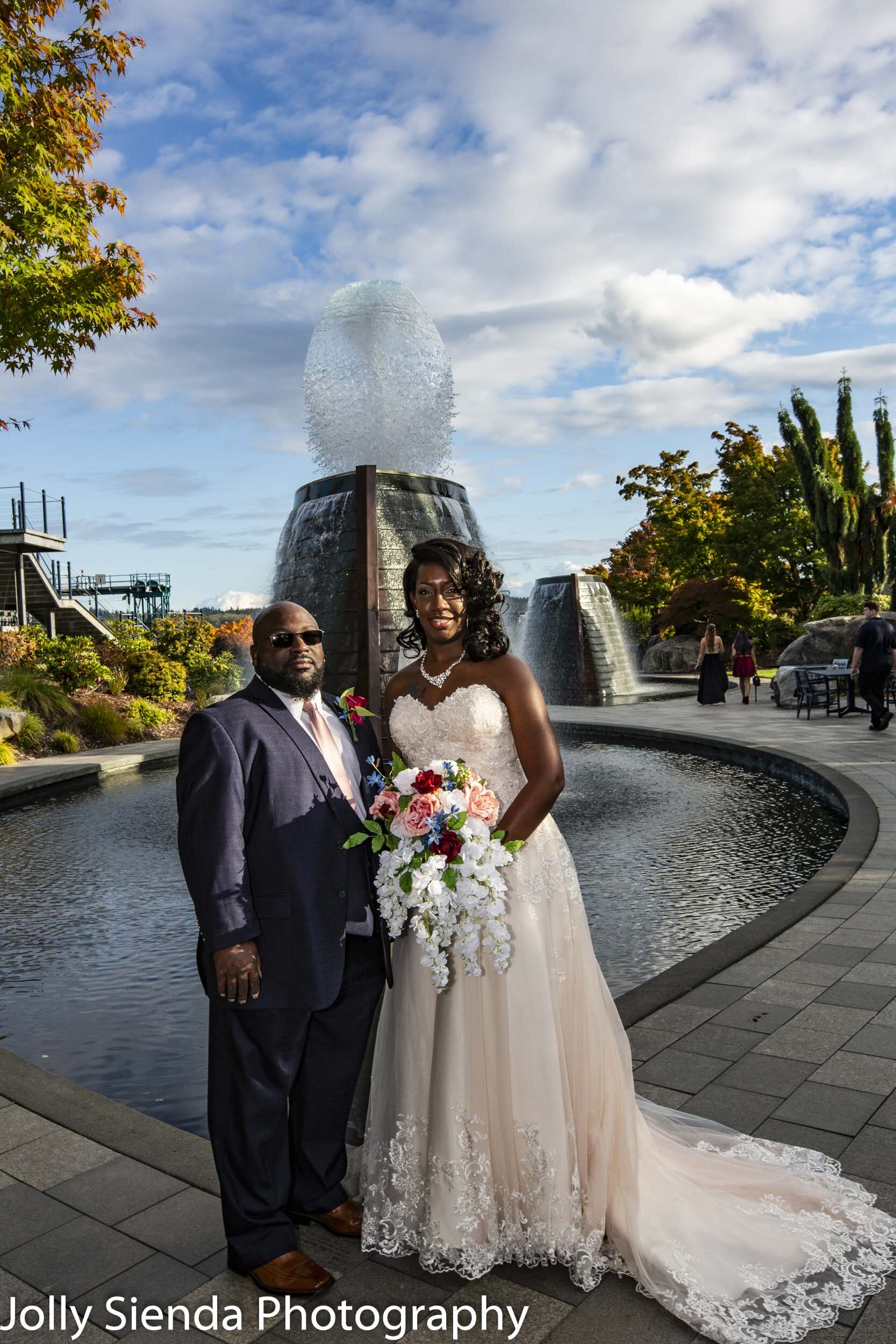 Marina and Malcolm DeWalt wedding photography
