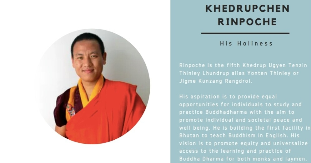 His Holiness Khedrup Rinpoche