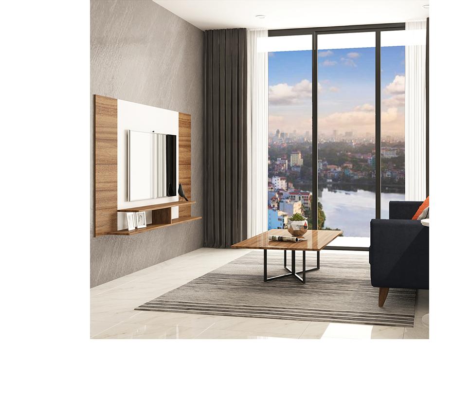 RENZO - Thiết kế Renzo với tông màu gỗ sồi kết hợp với xanh navy đậm và chi tiết đèn kim loại sẽ làm căn hộ của bạn trông không kém phần cá tính và sang trọng.Trọn gói nội thất và trang trí hoàn thiệnChi Phí:96.800.000 đ/1 Phòng ngủ116.267.000 đ/2 Phòng ngủ140.382.000 đ/3 Phòng ngủ