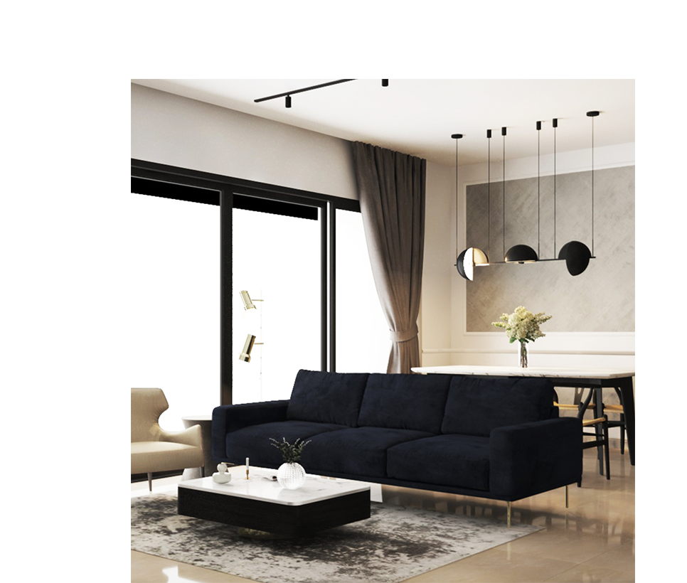 GASPY - Choosing a warm design from the inspiration of wood to provide a comfortable space for home owners.