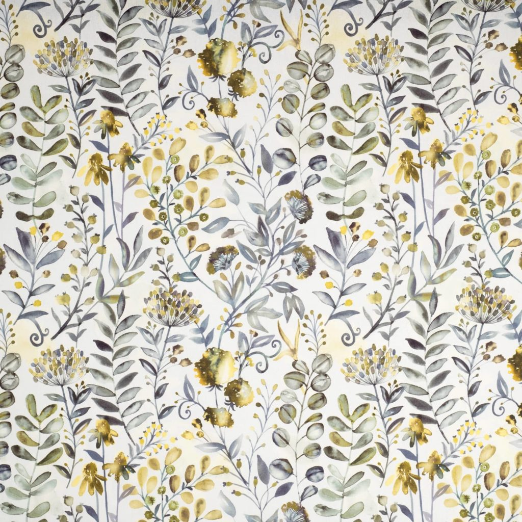 WHITWELL BUTTERCUP - Composition - 100% COTTONWidth Approx - 140cmVertical Repeat - 46.5cm