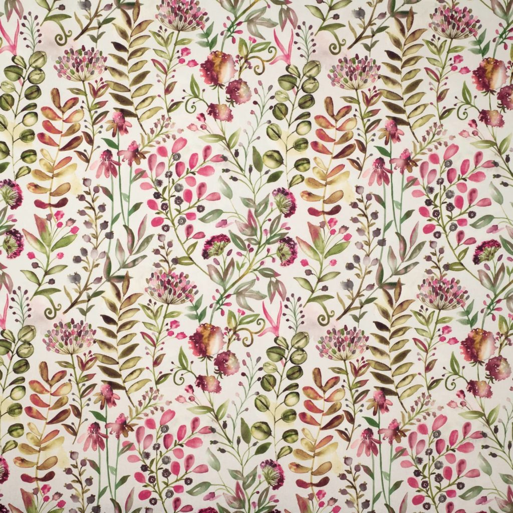 WHITWELL MAGENTA - Composition - 100% COTTONWidth Approx - 140cmVertical Repeat - 46.5cm