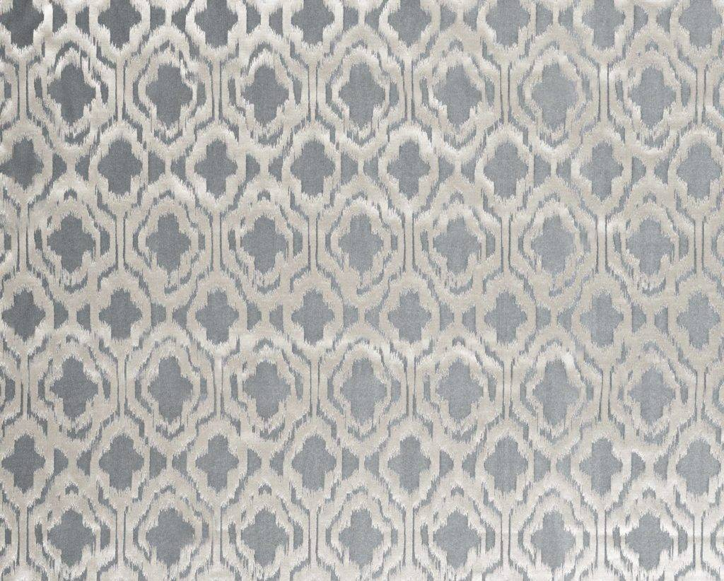 HELIGAN SILVER - Composition - 35% VISCOSE 33% POLYESTER 32% COTTONWidth Approx - 138cmVertical Repeat - 34cmRub Test - 20,000