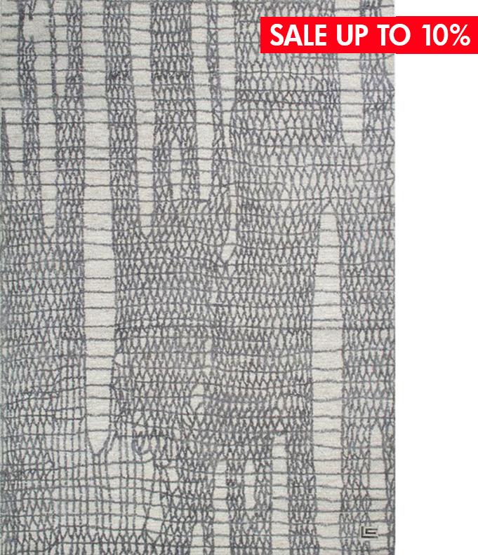 ASPECT SILVER - ● 160x230 cm● 100% tơ Viscose● $ 1,001.0