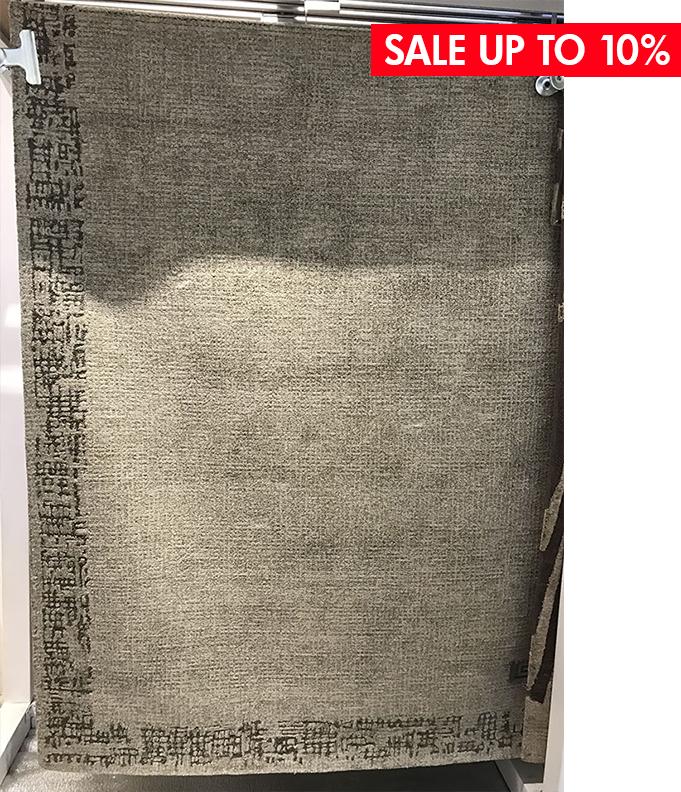 BORDER SILVER - ● 160x230 cm● Lông cừu - tơ Viscose● $ 753.0