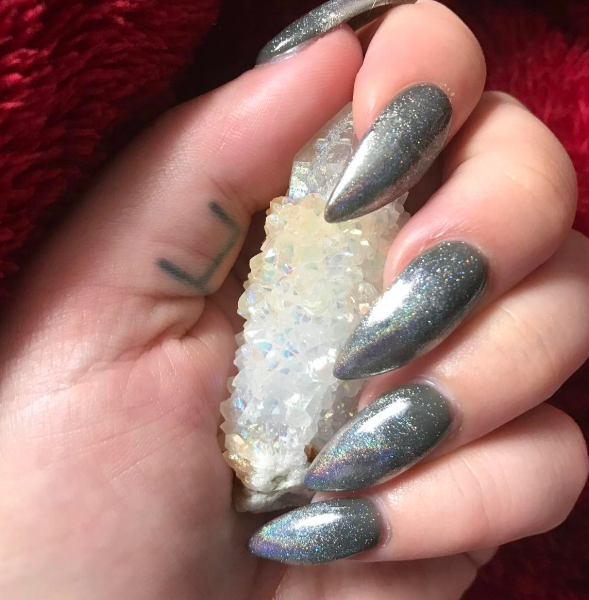 Spirit Aura Quartz | Kelli Jenkins, @spellsister on Instagram