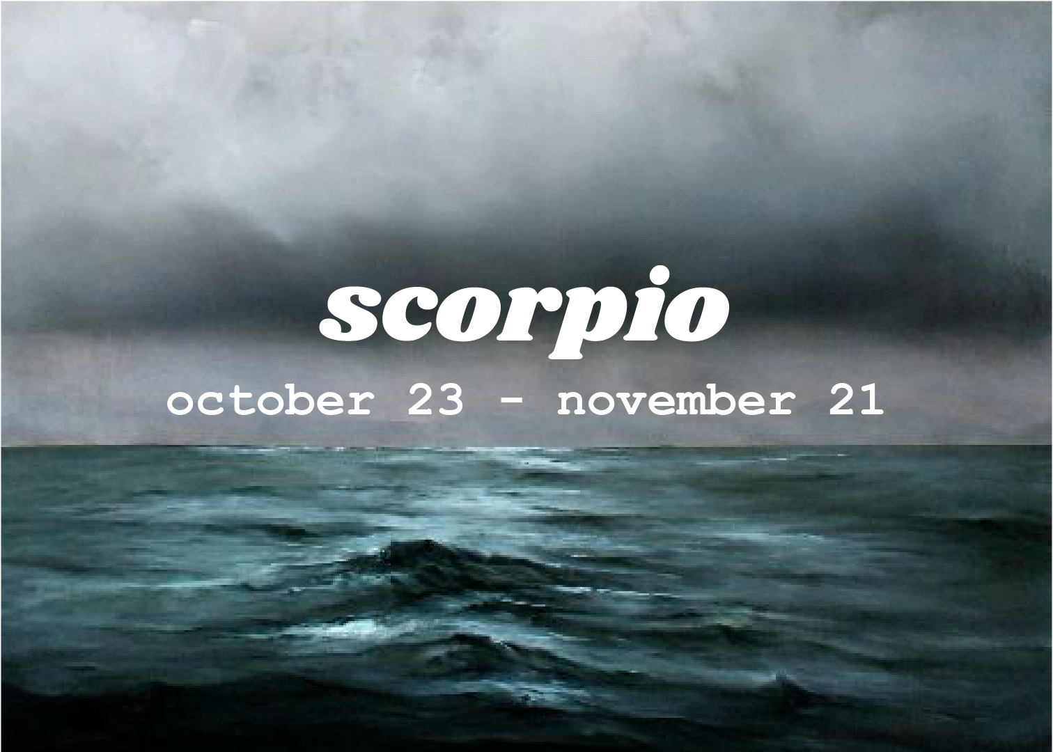 Zodiac Signs — spellsisters