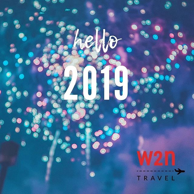 Happy New Year! 🥂 May all your travel wishes come true in 2019! ✈️🛳️🗽🗼🏰🏯 #hello2019 #happynewyear #travelinspiration #bucketlisttravel #w2ntravel #where2next